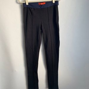 Anthropologie Cartonnier Black Blue Riding Pants